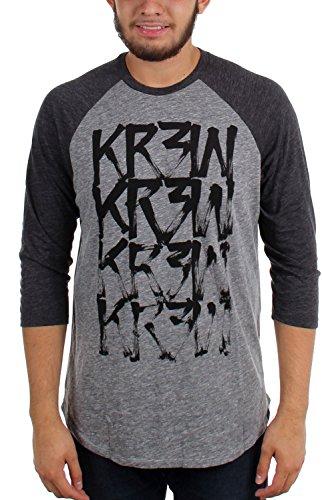 kr3w-drybrush-raglan-t-shirt-3-4-sleeve-mens-grey-heather-s