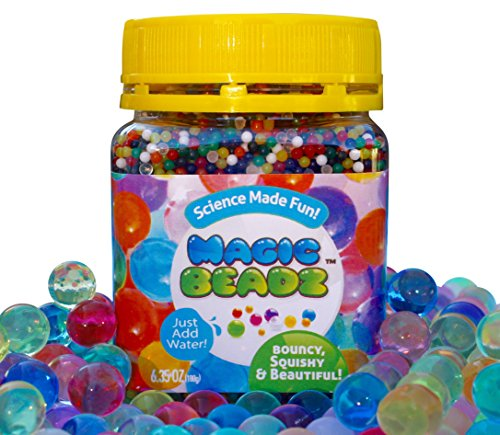 Magic Beadz - Jelly Water Beads Grow Many Times Original Size - Fun for All Ages - Over 20,000 Beads (Spas 12 Gun compare prices)
