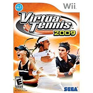 Virtua Tennis 2009 - Wii Standard Edition
