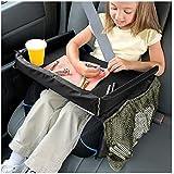 Baellar Kids Car Seat Travel Tray, Black