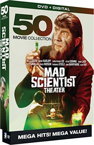Mad Scientist Theatre - 50 Movie MegaPack - DVD+Digital