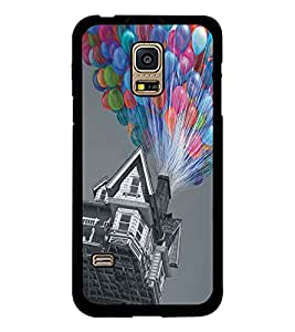 PRINTSWAG BALOON HOUSE Designer Back Cover Case for SAMSUNG GALAXY S5 MINI