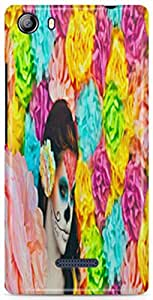 AKMOBI Designer Hard Back Case Cover For Micromax Canvas 5 E481