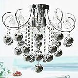 lustres en cristal modernes avec 3 lumières , 220-240V