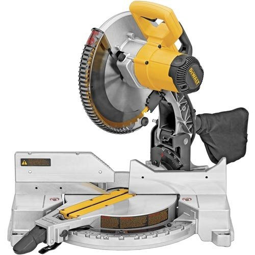 DEWALT DW715 15-Amp 12-Inch Single-Bevel Compound Miter Saw image