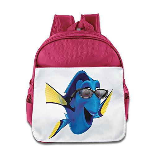 NUBIA Cartoon Marlin Children Pre School School Bag Pink