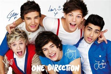 ワン・ダイレクション ポスター One Direction Colours(130513)