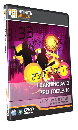 Infinite Skills Learning Avid Pro Tools 10 - Training DVD (PC/Mac)