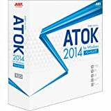 ATOK 2014 for Windows [�١����å�] �̾���