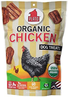 Plato Pet Treats Organic Chicken