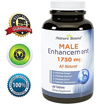 100% Pure Maca Supplement with Tongkat Ali, L-Arginine and Ginseng - Highest Grade & Quality - Potent Stamina Booster- For Men and Women - USA Made by Nature Bound