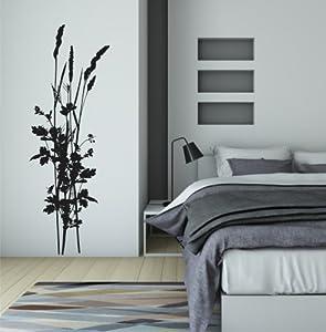 wandtattoo schilf im wind in wei im flur pictures to pin on pinterest. Black Bedroom Furniture Sets. Home Design Ideas