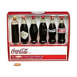 Coca-Cola Bottle Evolution Mini-Set