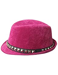 JTC Hiking Caps Beach Kids Sun Play Hat Bowler Hats Pink