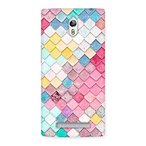 The Awesome Patterns of Rock Back Case Cover for Oppo Find 7