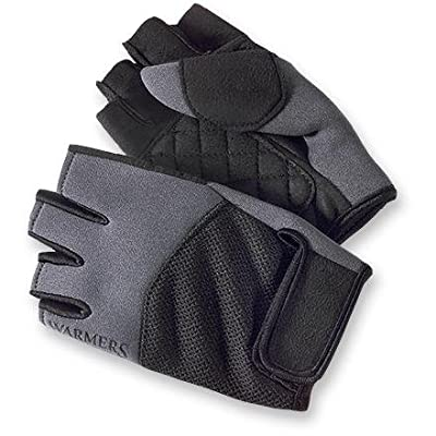 Warmers - Neomesh 1/2 Glove - Medium - Black