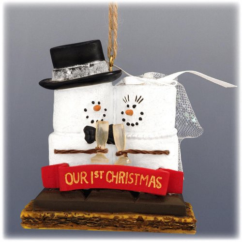 S'mores 'Our 1st Christmas' Resin Christmas Ornament