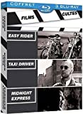 Image de Films cultes - Coffret - Easy Rider + Taxi Driver + Midnight Express [Blu-ray]
