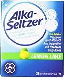 Alka- Seltzer Lemon Lime, 36-Count
