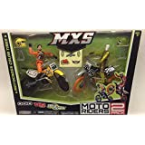 MXS Moto Riders Ogio Vs Ultra Spark 2 Pack Collector Seires By Jakks Pacific INC