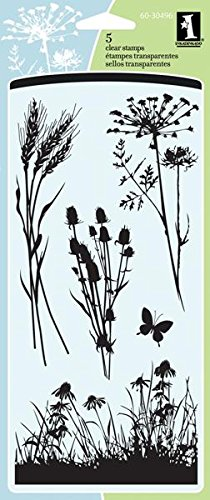 Inkadinkado Meadow Clear Stamp front-908109