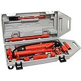 XtremepowerUS 10 Ton Hydraulic Porta Power Auto Body Frame Repair Kit
