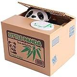 Panda MoneyBox Money Coin Bank Automated Steal Coin Bank Money Saving Box Moneybox Gifts for Kids Jar Alcancias Gato EJ875440