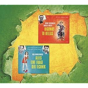 """Hörbuch-Box """"Humorvolle Unterhaltung"""" : Alles eine Frage der Technik/Wunderkerzen/Highway"""
