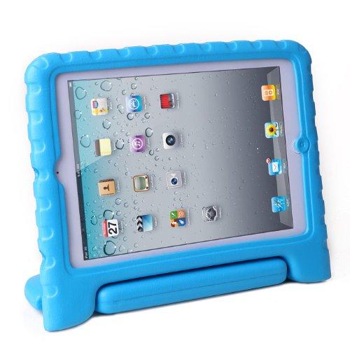 HDE iPad Mini Kids Case Shockproof Handle Stand Cover for Apple iPad Mini 2/3 Retina (Blue) (Covers Mini Ipad compare prices)