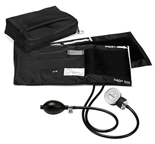 Prestige Medical Premium Extra Large Adult Aneroid Sphygmomanometer, Black (Blood Pressure Monitor Holder compare prices)