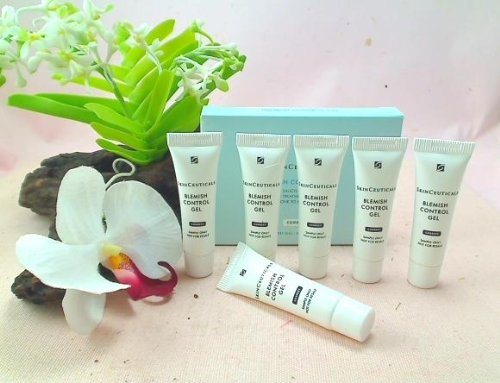 Skinceuticals Blemish Control Gel Medicated Treatment for Skin Prone to Acne Breakouts - Travel Size Tube (Lot of 6)