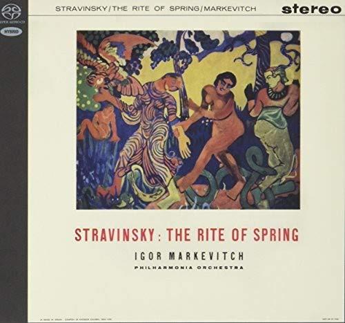 SACD : IGOR MARKEVITCH - Stravinsky: Rite Of Spring / Tchaikovsky: Nutcrack