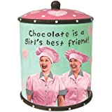 Westland Giftware I Love Lucy Chocolate Factory Cookie Jar, 9-Inch