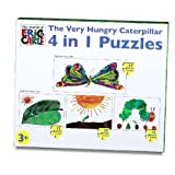 Very Hungry Caterpillar 4 in 1 puzzle