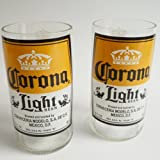 Corona Light Tumblers - boxed pack of 2