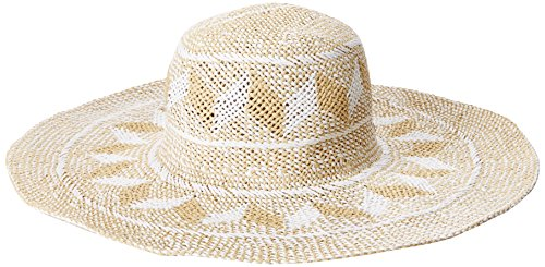 Roxy Roxy Junior's Postcard Ending Floppy Straw Hat