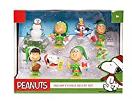Peanuts Christmas Figure Gift Set