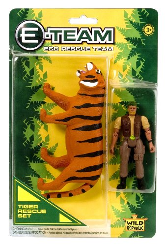 Wild Republic E-Team Blister Tiger