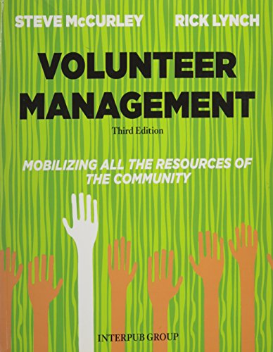 Volunteer Management Third Edition