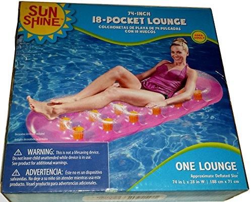 Sunshine 18 Pocket Lounge- Pink - 1