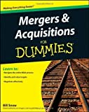 img - for Mergers and Acquisitions For Dummies by Bill Snow (May 3 2011) book / textbook / text book