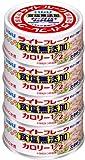 いなば ライト食塩無添加オリーブ油入り 80g×4缶パック