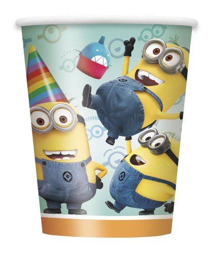 Discover Bargain Despicable Me 2 9-Ounce Cups, 8-Piece