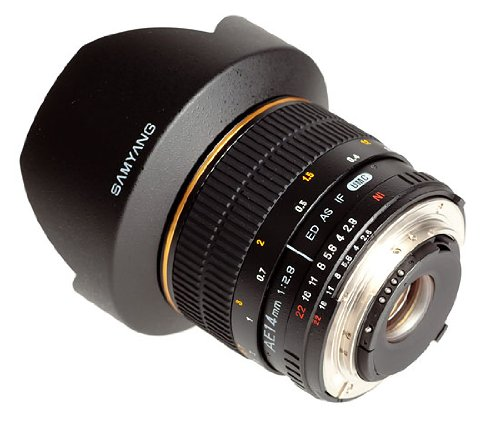 SAMYANG AE 14mm f / 2.8 ED IF UMC wide angle
