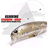 Generic F : Perfect Quty Bait A+ Fishing Lures,100mm/14.5g Bearking 10 Diffet Colors,crank Minnow Popper Hard Bait 2017 Hot Model
