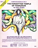 The Forgotten Temple of Tharizdun, Advanced Dungeon and Dragons Module Wg-4 (0394530020) by Gygax, Gary