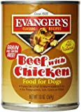 EVANGER'S 12-Pack Natural Classic Beef with Chicken Supplement for Dogs, 13-Ounce