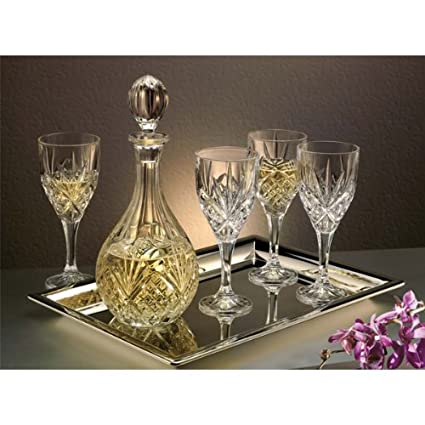 Godinger Dublin Crystal 7-Pc. Wine Set