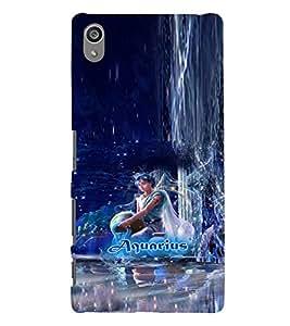 PRINTVISA Zodiac Aquarius Case Cover for SONY XPERIA Z5 PLUS