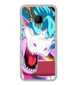 Fierce Dragon 2D Hard Polycarbonate Designer Back Case Cover for HTC One M9 :: HTC One M9S :: HTC M9 :: HTC One Hima
